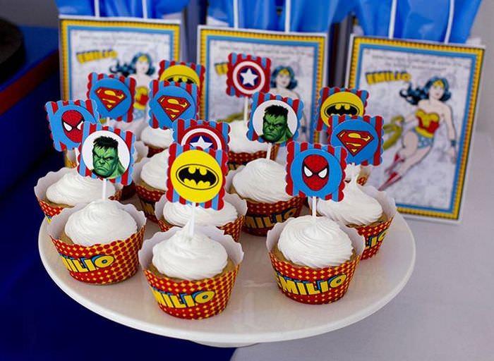 Оформление пирожного картинками на день рождения ребенка