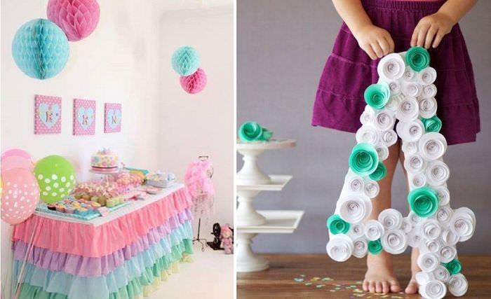 Оформление своими руками детской комнаты на день рождения ребенка