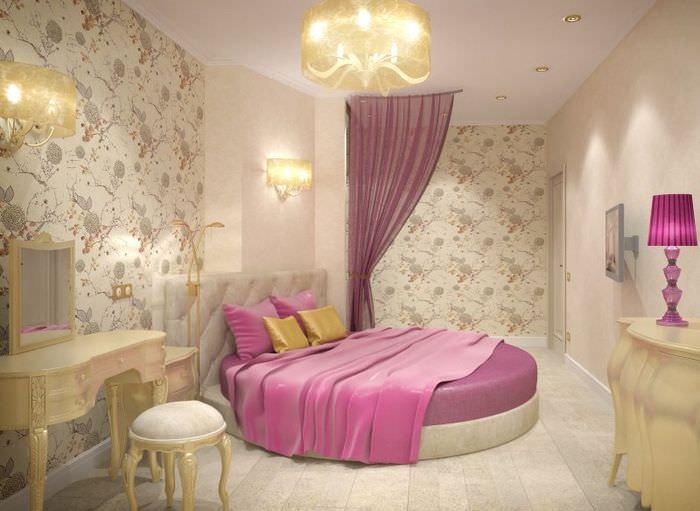 Дизайн спального помещения для девушки или женщины