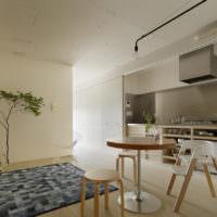 Современный интерьер гостиной в духе минимализма