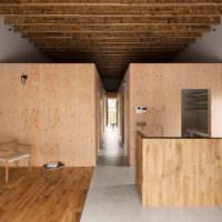 Интерьер японского дома в стиле минимализма