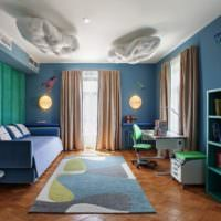 Дизан гостиной в фантазийном стиле