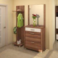 Корпусная мебель для малогабаритной прихожей