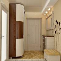 Дизайн-проект прихожей размерами 2х2 метра