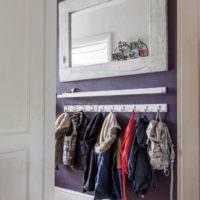 Открытая вешалка для детской одежды