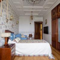 Морской стиль в оформлении спального помещения