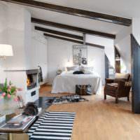 Оформление жилой комнаты в морской тематике