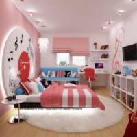 Оригинальный дизайн современной детской комнаты