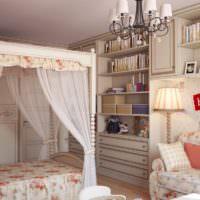 Корпусная мебель в ретро стиле