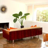 Дизайн-проект комнаты в стиле контемпорари