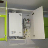 Шкаф для маскировки газового оборудования своими руками