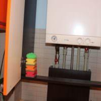 Шкаф для двухконтурного газового котла