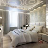 Декорирование спальной комнаты зеркалами