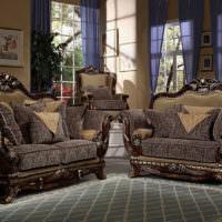 Красивые кресла в классическом стиле