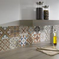 Керамическая мозаика с восточными орнаментами