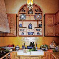 Оформление кухни в марокканском стиле