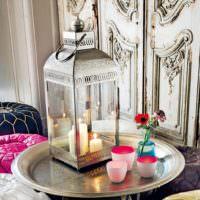 Декоративные свечи в восточном стиле
