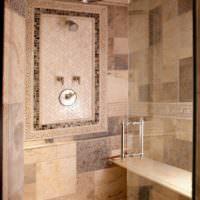 Интерьер ванной в греческом стиле