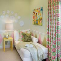 Интерьер небольшой комнаты для ребенка
