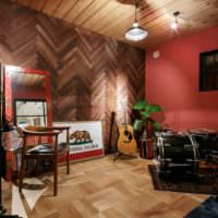 Оформление студии звукозаписи в стиле лофт
