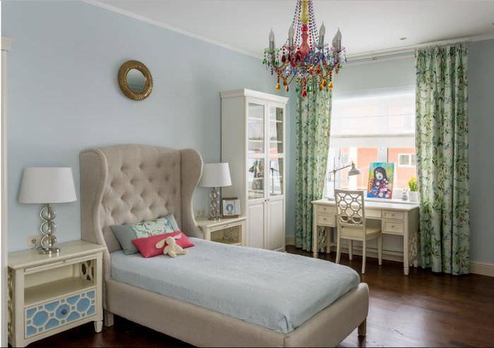 Интерьер современной комнаты для девочки подростка