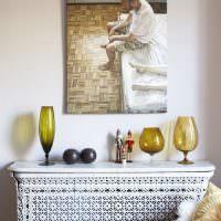 Использование живописи для декорирования интерьера