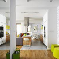 Дизайн-проект совмещенной комнаты