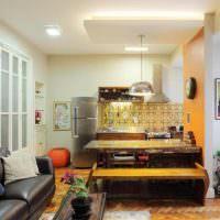 Освещение в квартире свободной планировки
