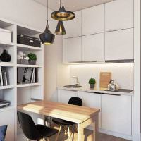 Кухонный гарнитур в стиле минмализма