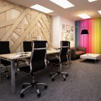 Черные офисные стулья с хромовым покрытием