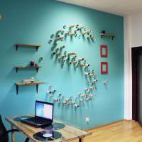 Интерьер небольшого офиса в современном стиле