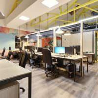 Интерьер офиса в индустриальном стиле