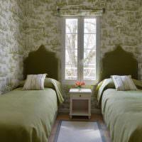 Детская спальня для двух мальчиков дошкольного возраста