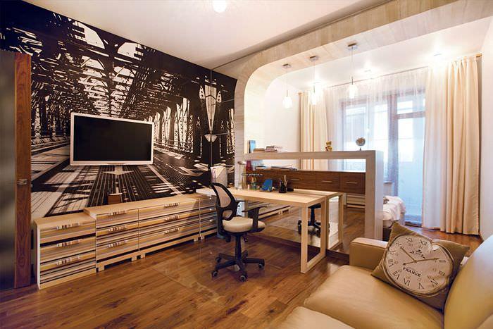 Планировка комнаты в квартире-студии