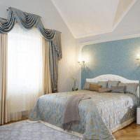 Оттенки сиреневого цвета в интерьере спальни