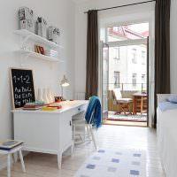 Детская в стиле скандинавского минимализма