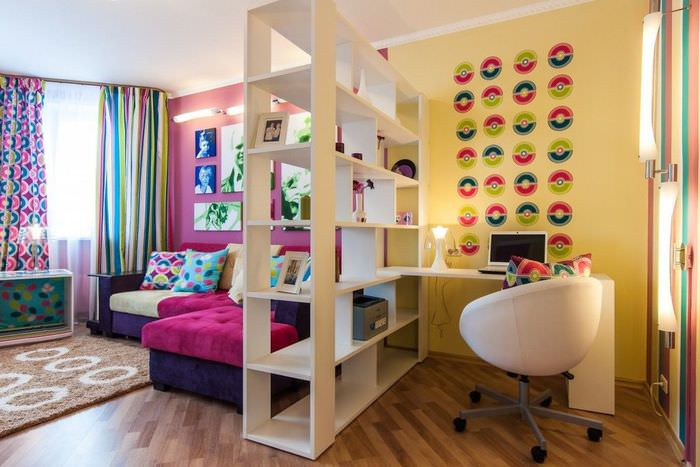 Организация детской зоны в однокомнатной квартире