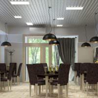 Дизайн пивного бара в светлых оттенках