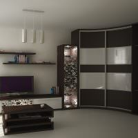 Комплект мебели для зала с угловым шкафом