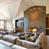 Белый потолок сложной конфигурации