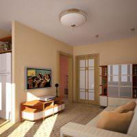 Современная квартира-студия в панельном доме