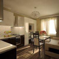 Дизайн современной комнаты для молодой семьи