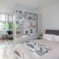 Интерьер жилой комнаты в скандинавском стиле
