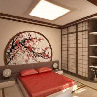 Оформление спальной комнаты в китайских традициях