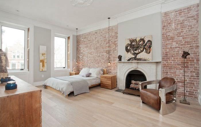 Декорирование комнаты в стиле лофт