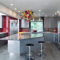 Нержавеющая сталь в оформлении кухни
