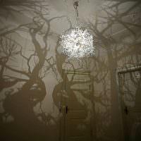Люстра с эффектом ночного леса