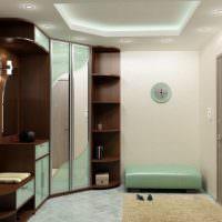 Комплект мебели с радусным шкафом