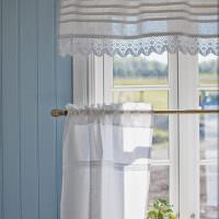 Двойные шторы из прозрачной ткани