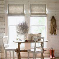 Ретро мебель в интерьере кухни